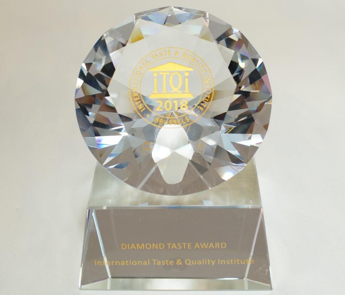 iTQi(国際味覚審査機構)ダイヤモンド味覚賞(七年連続3ツ星受賞)