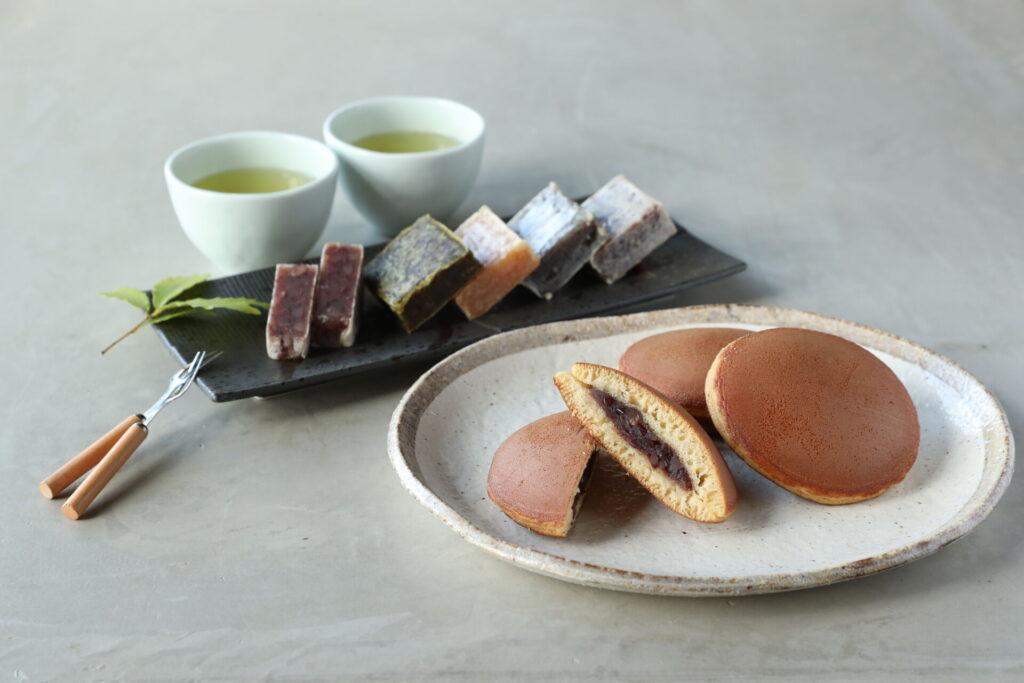 「ふみこの和菓子セレクト」5種のきんつば&長寿どら焼きセット